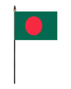 Bangladesh Country Hand Flag - Small.